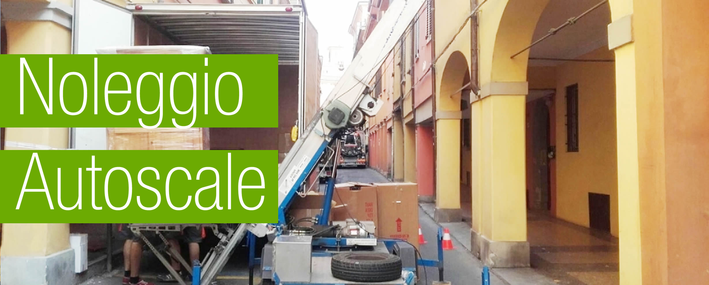 Pisoniano - Noleggio Scale Montacarichi a Pisoniano